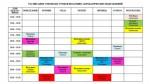 Расписание вступительных испытаний