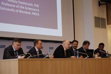 Встреча с ректором Мумбайского университета
