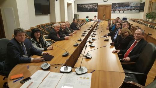 Встреча с иностранными учеными в Государственной Думе