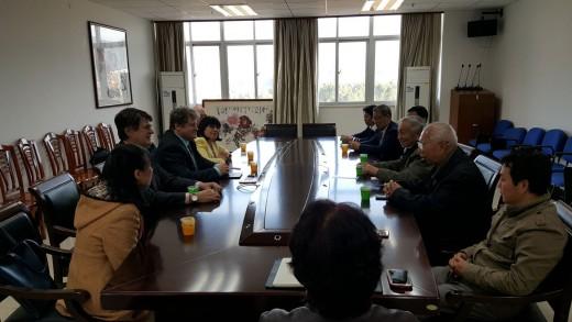 Визит делегации института в университеты г.Гуаньджоу, Китай