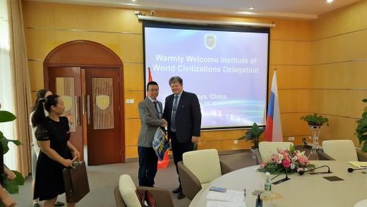 Визит делегации института в университет г.Санья, Китай