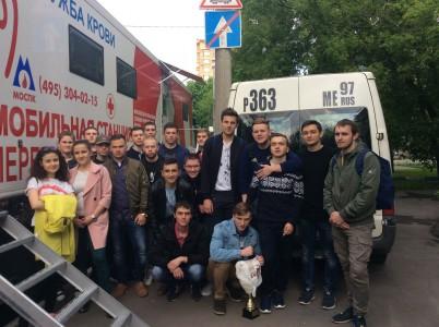 Студенты ИМЦ приняли участие в Дне Донора