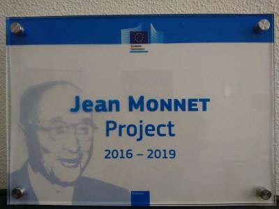 ИМЦ награжден почетным знаком Жана Моне