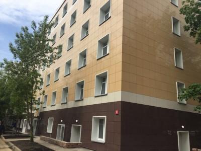 Новое общежитие ИМЦ