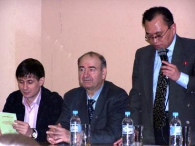 Встреча с дипломатами Посольства КНДР